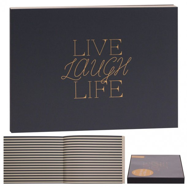 Artebene Gæstebog Live-Love-Laugh